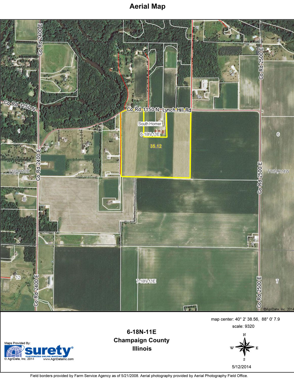 Illinois vermilion county armstrong - Homer Farm