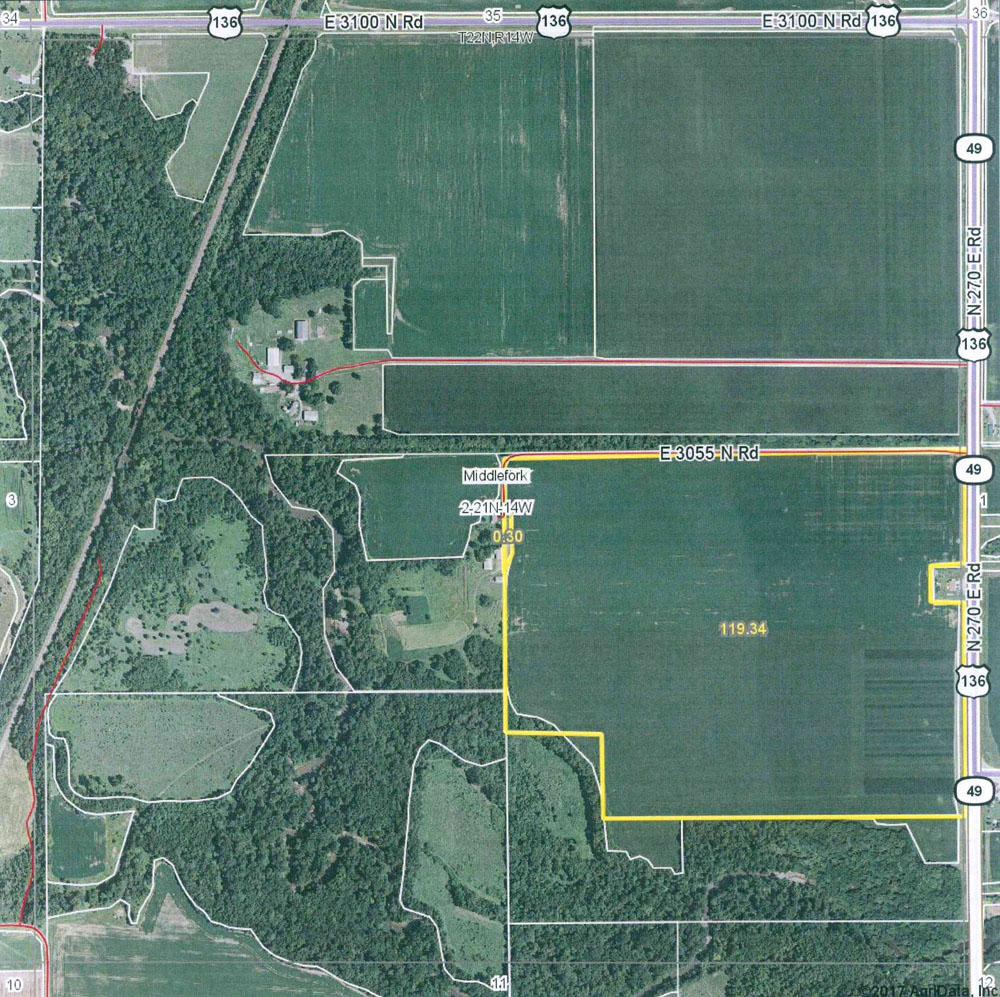 Illinois vermilion county armstrong - Burd Farm 120 Tillable Acres In Vermilion County Illinois